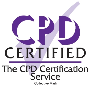 We are Registered as a CPD Certified Company