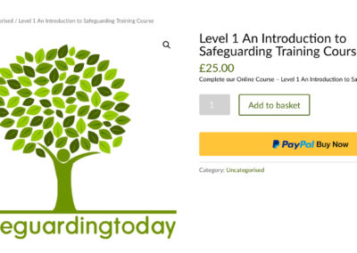 How to Buy the Online Safeguarding Training Course
